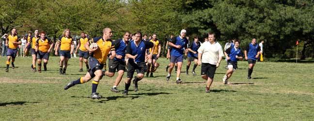 Cours d'Anglais et Rugby - Douglas Community School