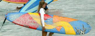 Cours d'Anglais et Surf pour un adolescent