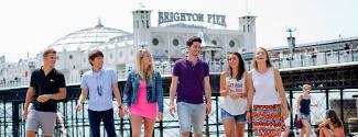 Séjour linguistique en Grande-Bretagne pour une famille - Brighton Language College - Brighton