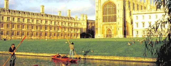 Cambridge - Séjour linguistique à Cambridge