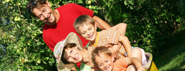 Séjours linguistiques pour familles